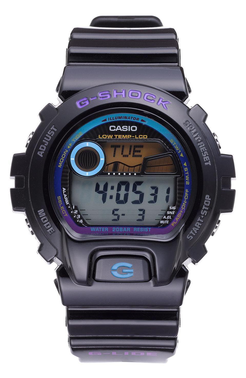 Casio gshock 6900 glide tidegraph watch mens watch