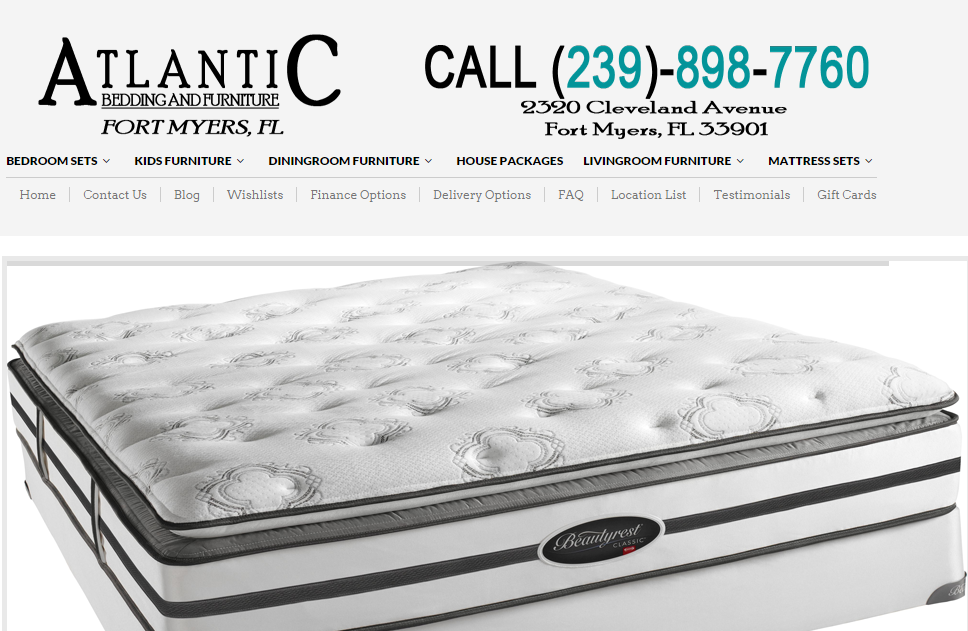 Atlantic Bedding And Furniture Stores Is One Of The Best Furniture Stores  Fort Myers And They