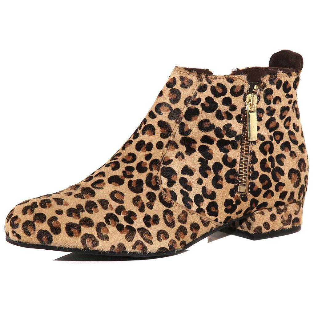 dorothy perkins leopard print boots