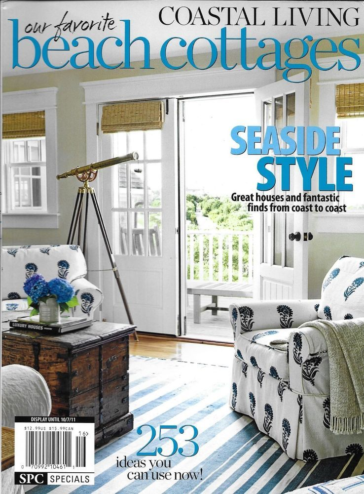 Tremendous Cottage Living Favorite Beach Cottages Magazine Seaside Interior Design Ideas Inesswwsoteloinfo