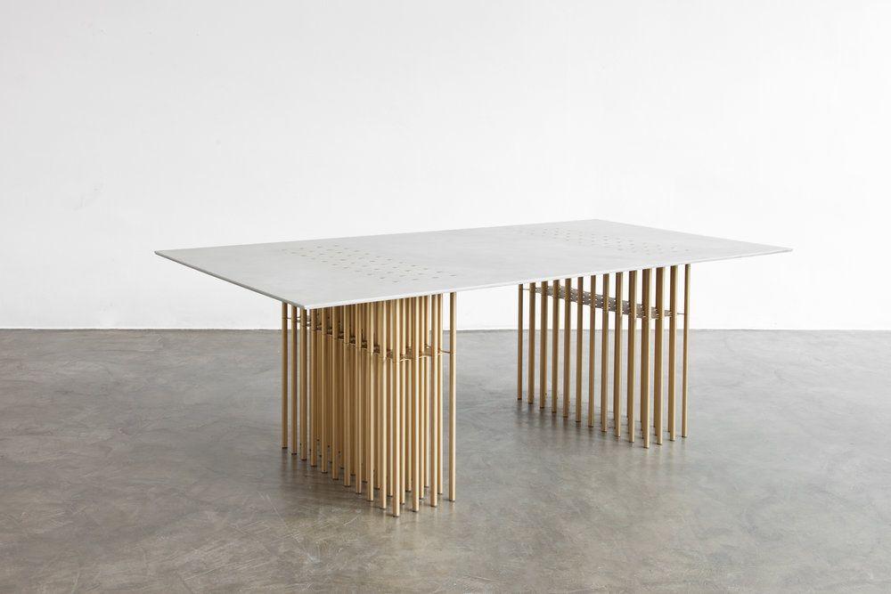 Studio Sebastien Leon Table Design Furniture Sculptural Collection De Meubles Mobilier Design Meuble Design