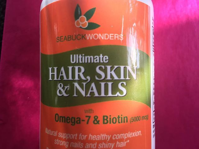 Our Ultimate Hair, Skin & Nails is made from Organic sea buckthorn seed and berry oil combined with biotin. It's in our first ever vegan capsules so everyone can enjoy it!