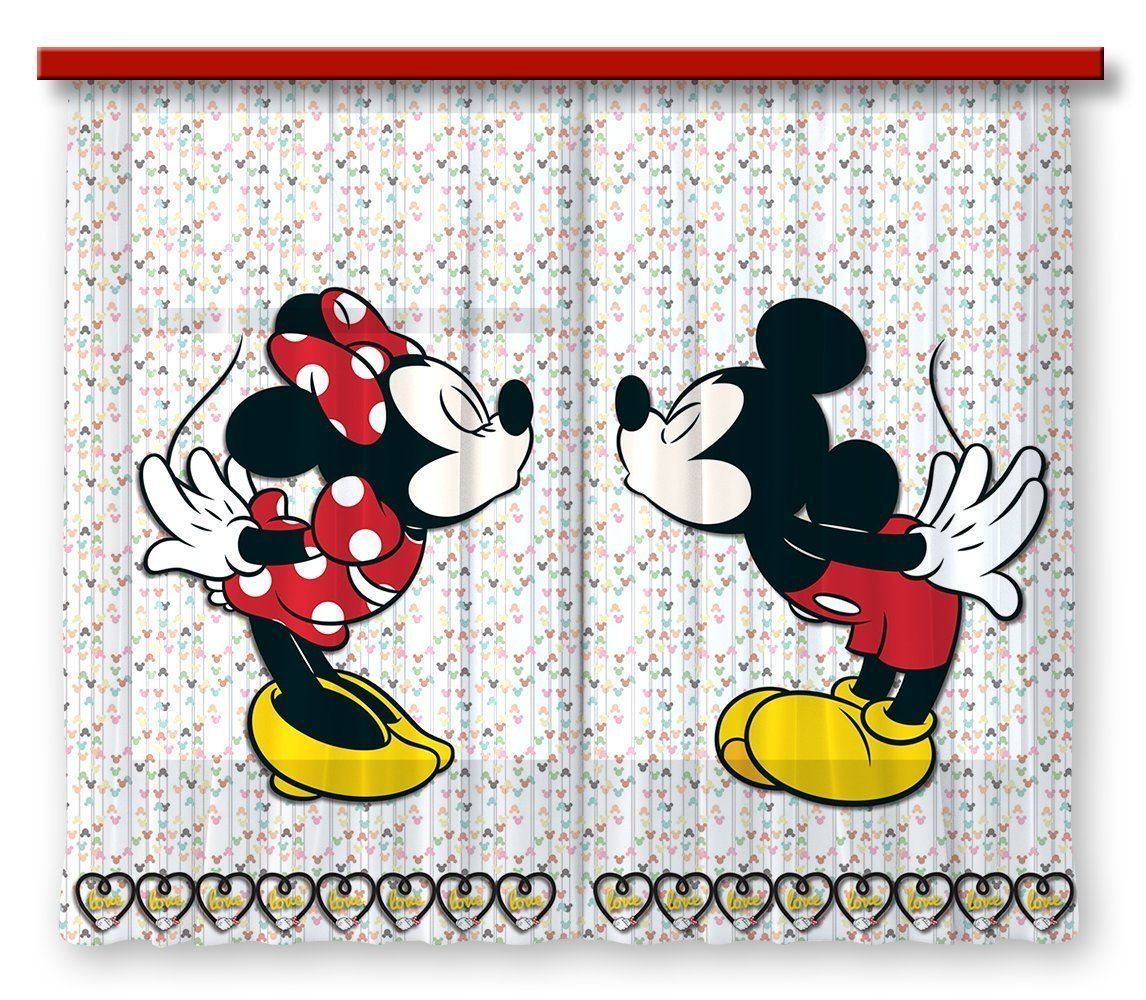 Disney Mickey Mouse, Gardine/Vorhang | Kinderzimmer ▷ Mickey Mouse ...