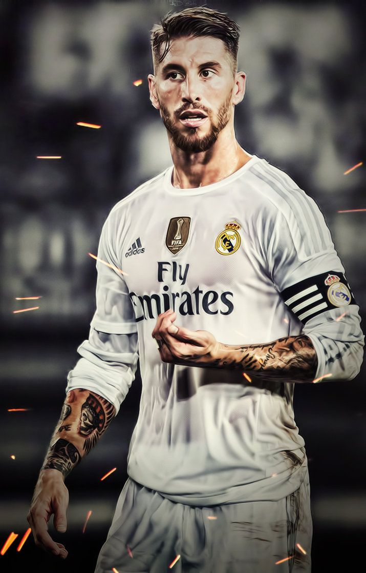 Sergio Ramos Real Madrid iPhone Wallpaper HD by adi REAL