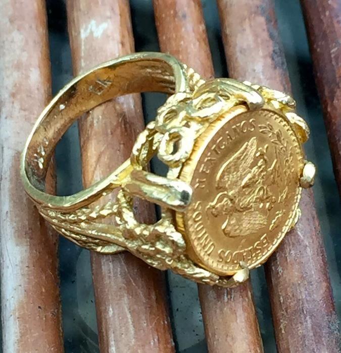 "Metal Concho Mexican Silver Gold Colors California 2.5/"" x 1/"""