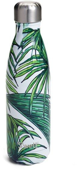 2ff252366a S'Well 'Waikiki' Stainless Steel Water Bottle. Love this palm print water  bottle!
