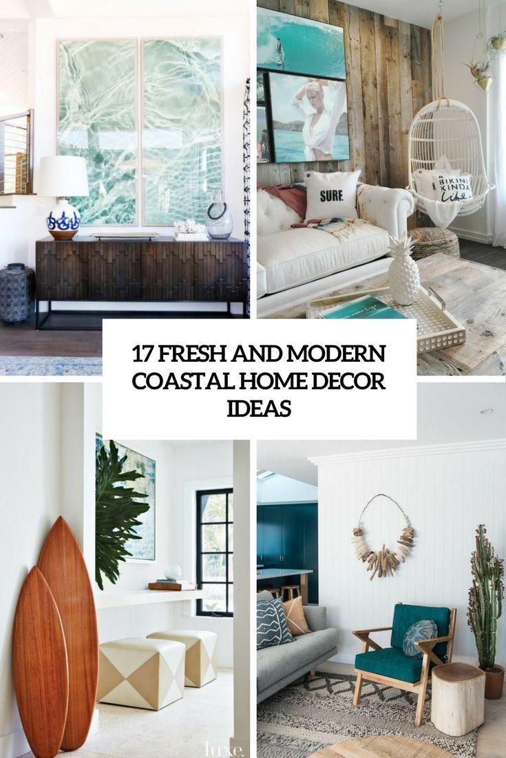 fresh and modern coastal home decor ideas cover | Home decor ...