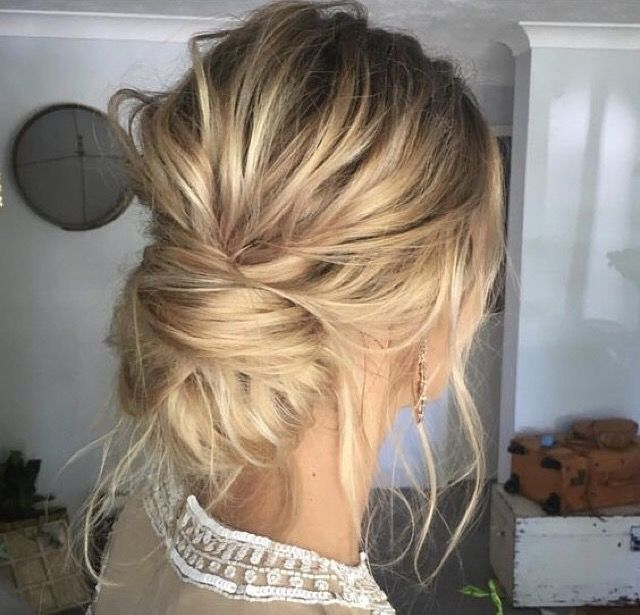 Messy Bun Easy Hairstyles Quick Hairstyles Women S