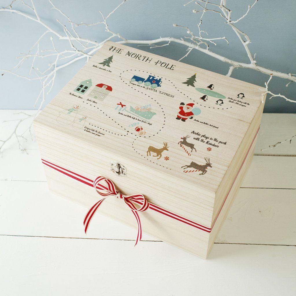 North Pole Personalised Christmas Eve Box | Christmas | Pinterest ...