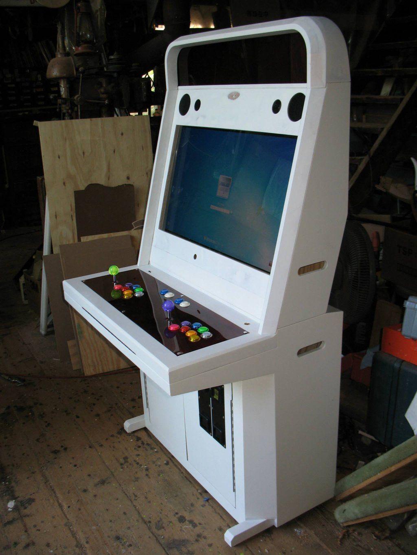 Anese Style Handmade Sit Down Arcade Machine By Tonberryhunter Deviantart On