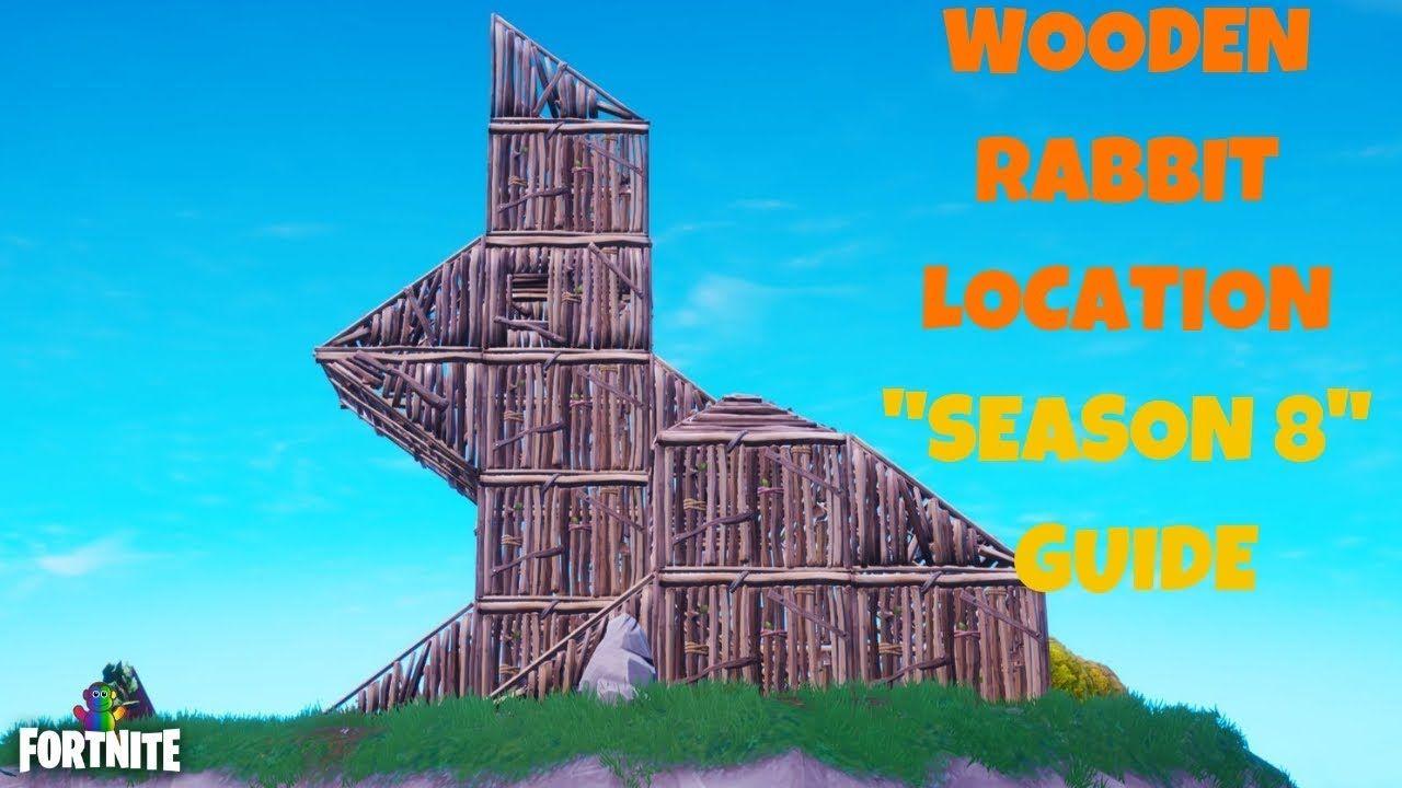 Fortnite Visit Wooden Rabbit Location Guide Season 8 Week 6