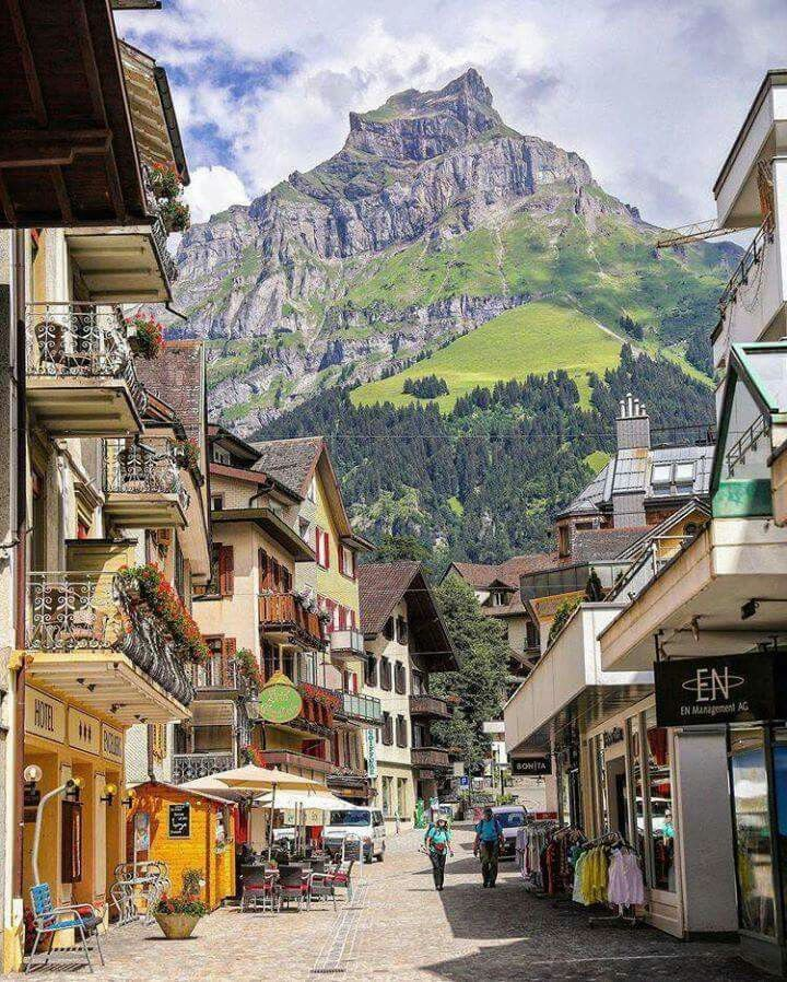 Best Places For Holiday In June: Engelberg, Switzerland