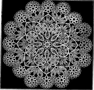 Crochet Pattern D\'Oyley - (Doily, Doiley, Doilie) Star Pattern ...