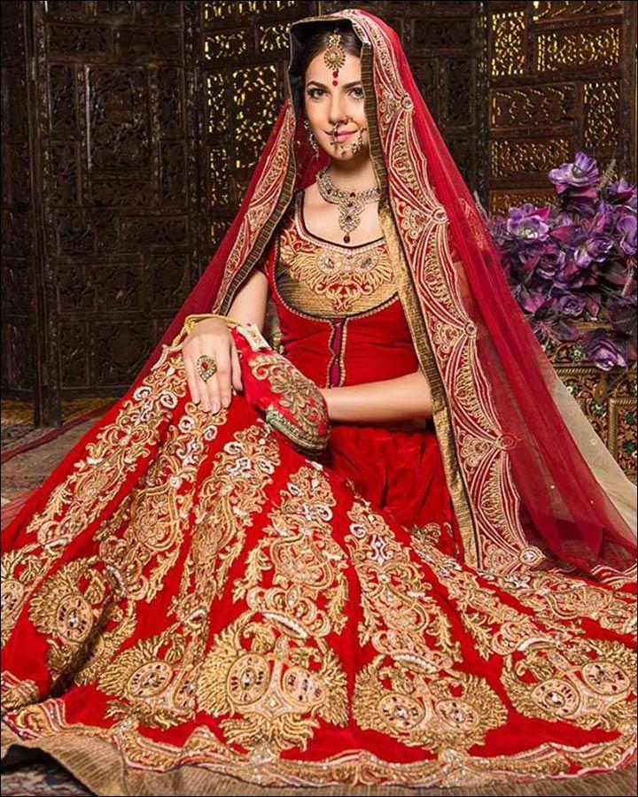 b7719de7c Indian Wedding Dresses - 22 Latest Dresses To Look Like A Diva ...