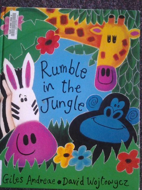 Book---Rumble in the Jungle by Giles Andreae