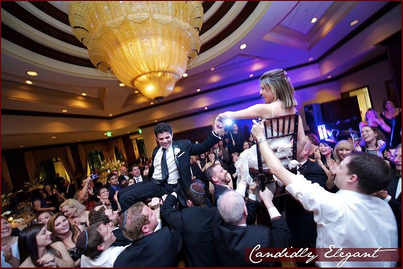 Jewish Bride Bridegroom In The Traditional Dance Called Hora ItsMyMitzvah