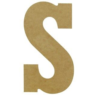 13 wood jumbo letter s shop hobby lobby 349 each