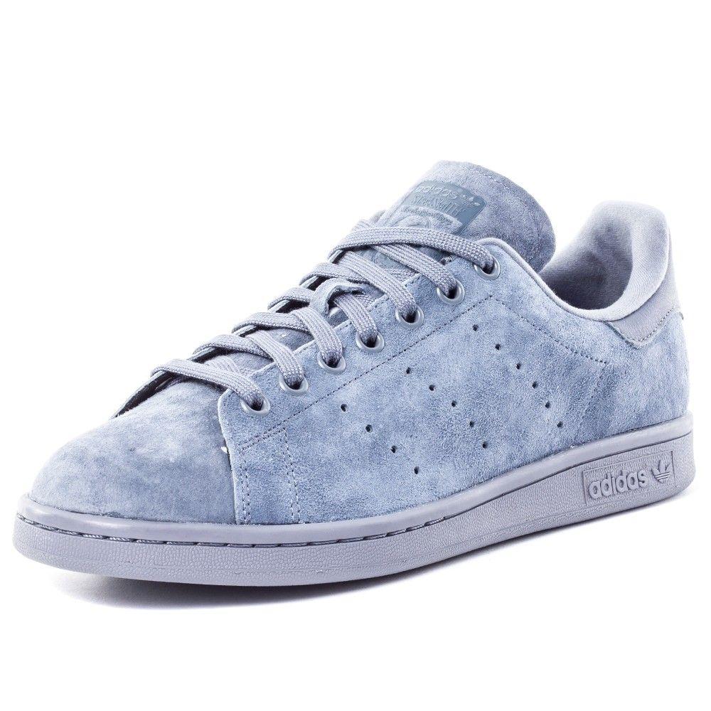Adidas Stan Smith (Onix) Mens Trainers in Dark Grey