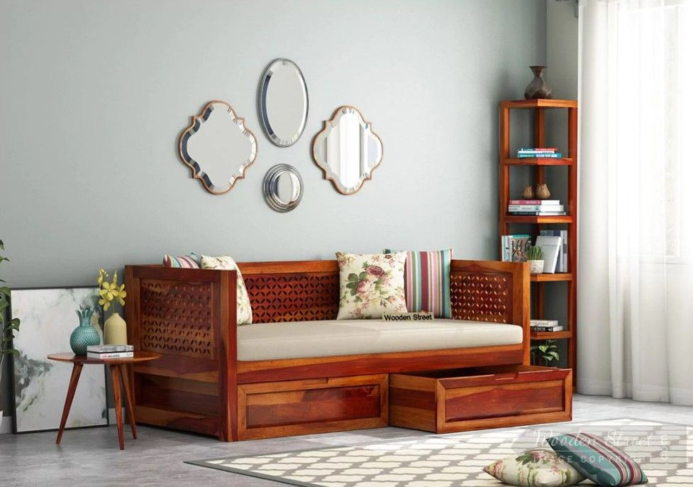 Indian Style Diwan Indian Living Rooms Furniture India Living