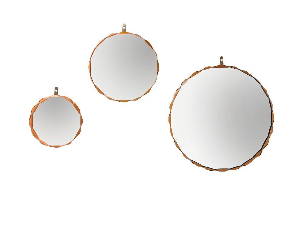 Mirror Raperonzolo by @Zanotta | #designbest #salonedelmobile #salonedelmobile2015 #milanodesignweek #mdw2015 #isaloni #design #interiordesign |