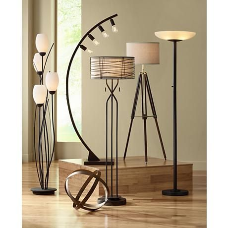 Arcos 71 High Bronze Arc Floor Lamp By Franklin Iron Works