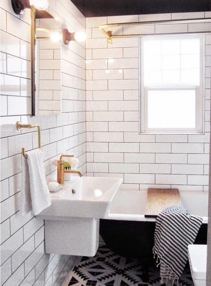 cool cuartos de bao blancos cuartos de baos pequeos baos modernos bao alicatado azulejos mexicanos azulejos blancos de metro cambios de imagen del with - Alicatado Baos
