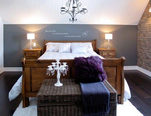 Diese Zeitgenossische Schlafzimmer Kuhlen Grauen Wanden Machen Eine