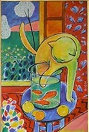 Henri Matisse Le Chat Aux Poissons Rouges 1914 Tableau Matisse Peintures Matisse Art De Matisse
