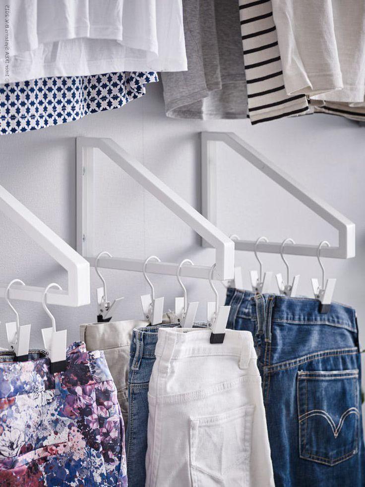 26 Ikea Hacks Fur Ihre Ikea Garderobe Ikea Garderoben Ideen Garderobe Ikea Und Kleiderschrank Fur Dachschrage
