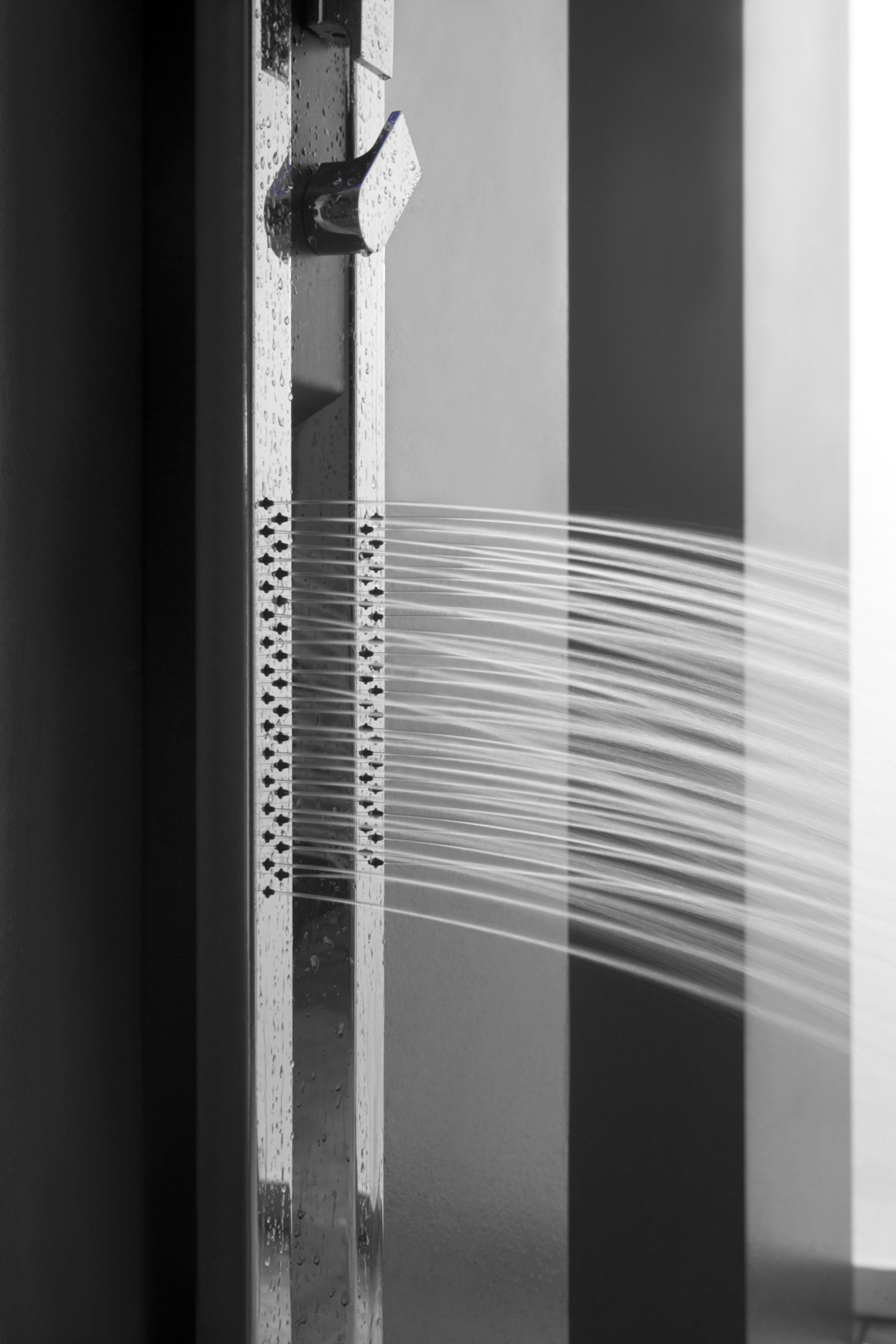 The electric body sprays on the Ametis Shower System, designed by ... - The electric body sprays on the Ametis Shower System, designed by Davide  Oppizzi.