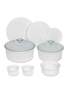 Corningware 10-Piece French White Bakeware Set