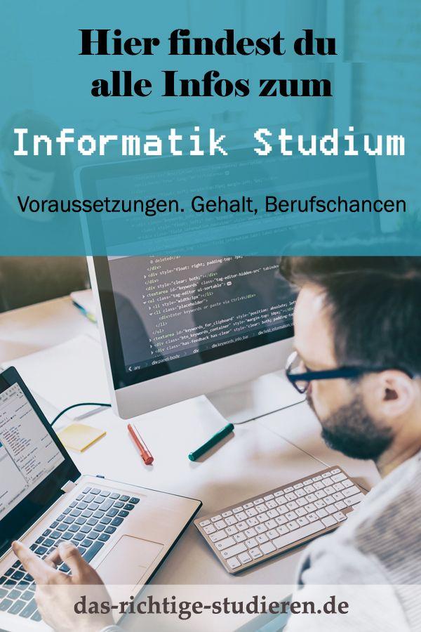 Informatik Studium Voraussetzungen
