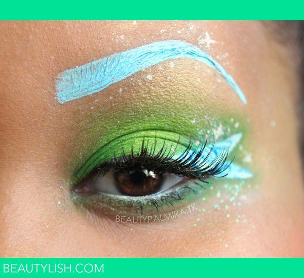 Disneys Tinkerbell Disney Makeup Disney Inspired Makeup Tinkerbell Makeup