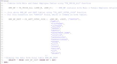 Calculation Engine Plan Operators (CE Functions) Vs SQL Code   SAP