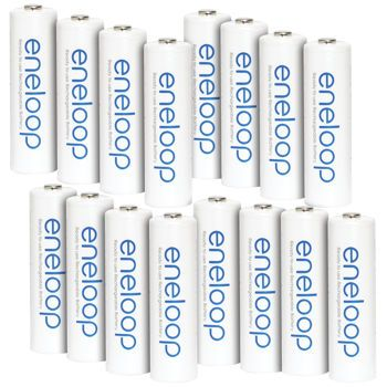 The Best Batteries I Have Ever Invested In 5 Years Ago Still Going Strong Costco Sanyo Eneloop 1500 Battery Pack 16 X Aa Sanyo Laptop Battery Aa Batteries