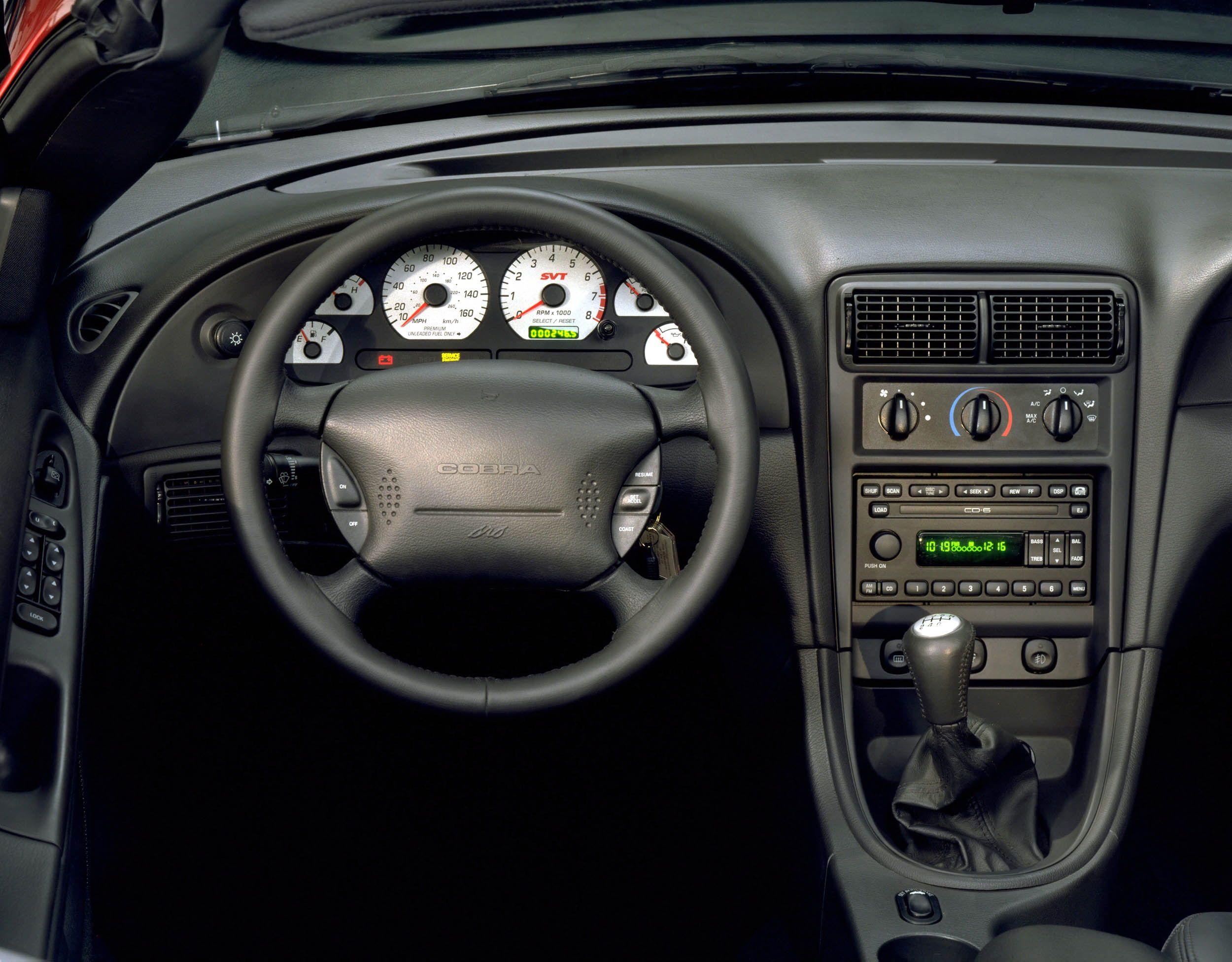 2003 2004 Ford Mustang Svt Cobra In 2020 Mustang Interior 2004 Ford Mustang Ford Mustang Interior