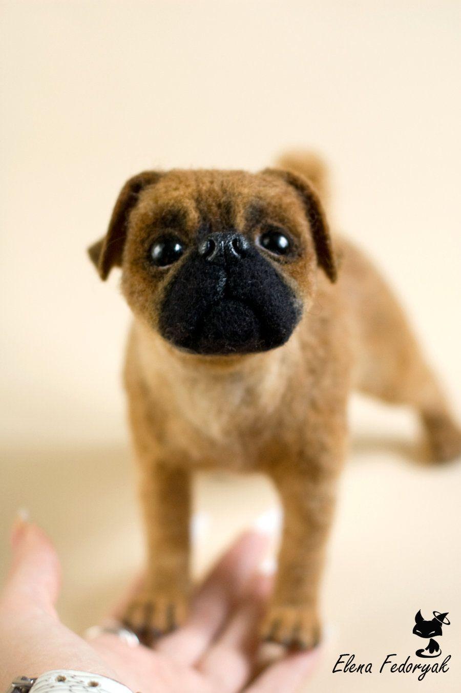 Petit Brabancon Needle Felted Dog Needle Felted Dog Felt Dogs Needle Felting