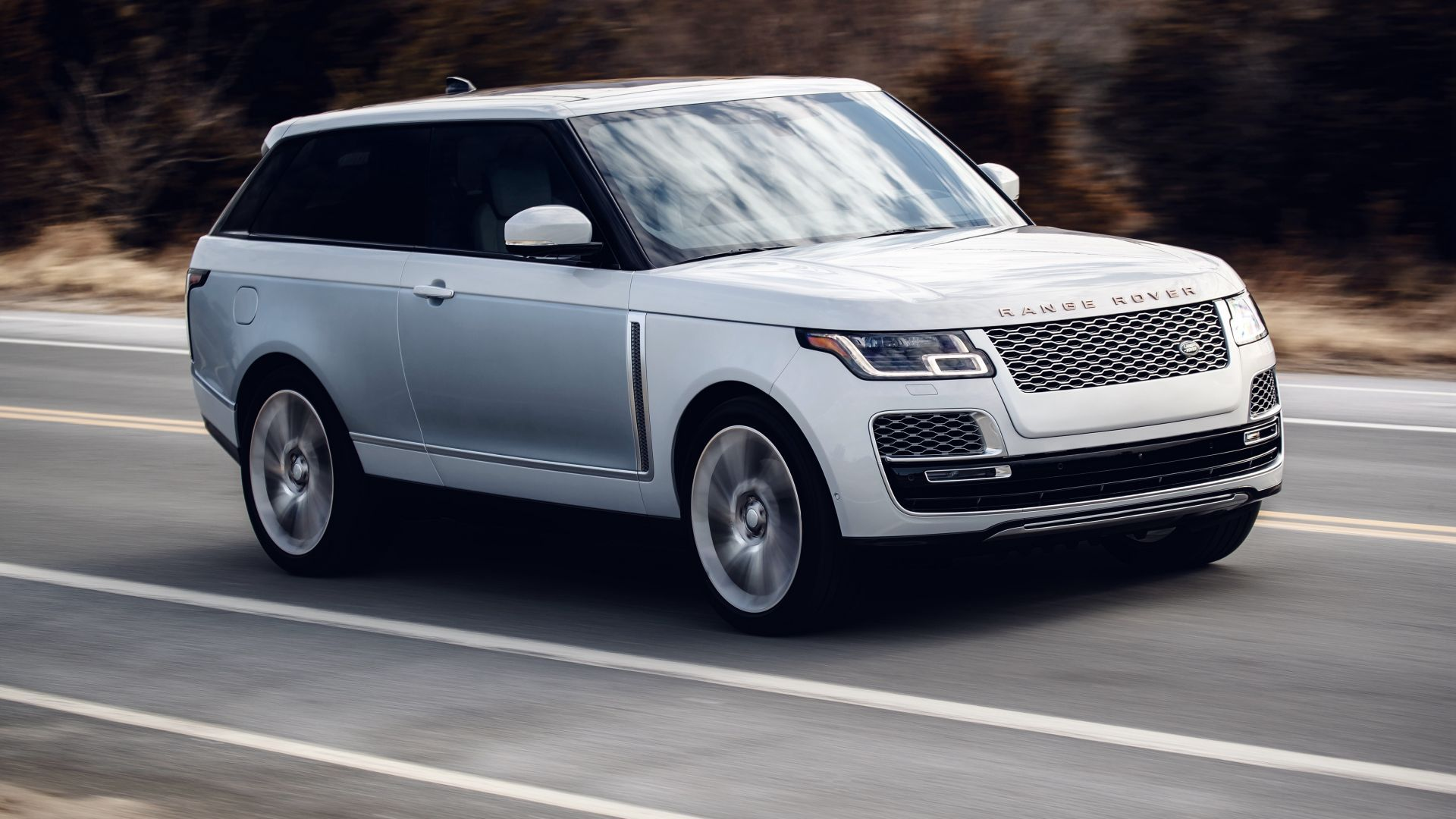 Land Rover Range Rover SV Coupe, 2019 Cars, SUV, 4K