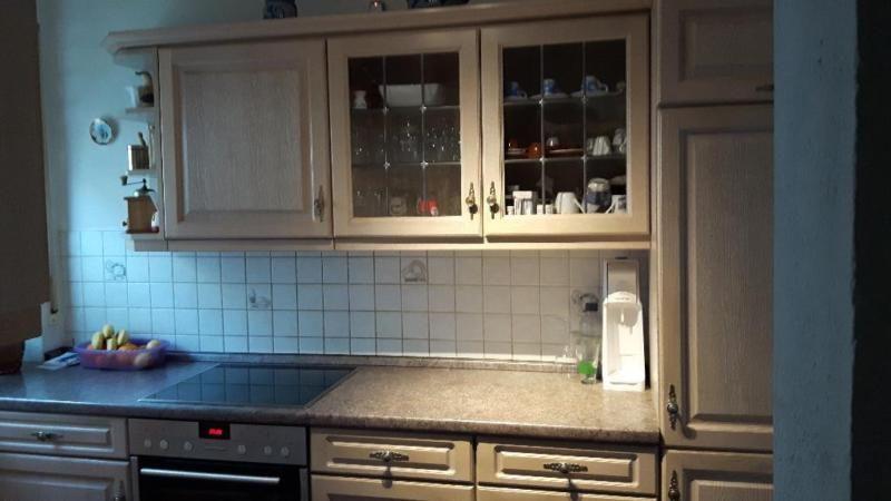zu verkaufen eine komplette gut erhaltene alno einbauk che farbe eiche tauwei abbildung aeg. Black Bedroom Furniture Sets. Home Design Ideas