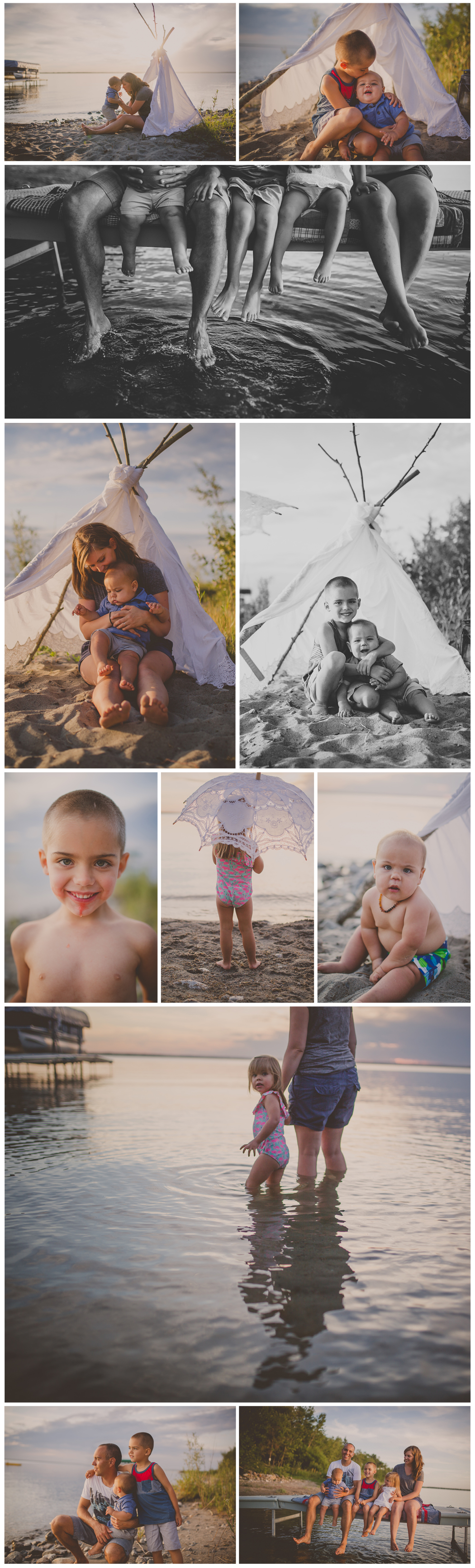 The Tarleton family — kristin hickman art & photographic design