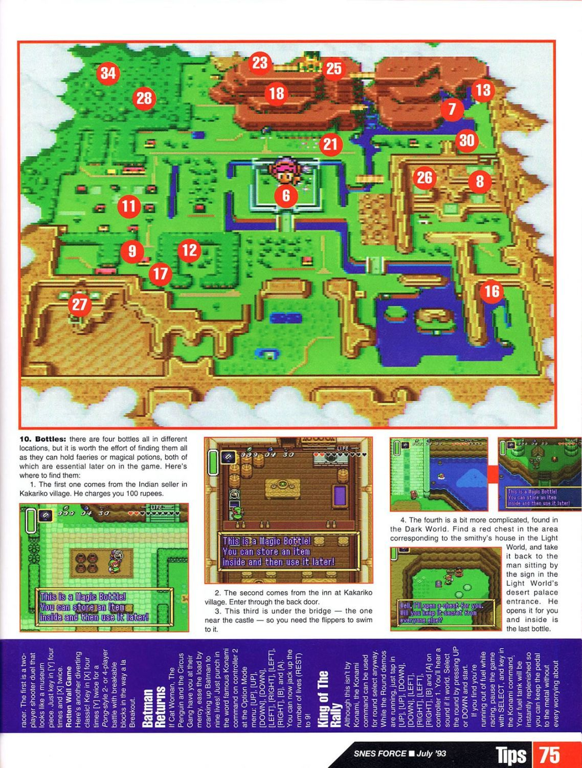 snes force issue 1 july 1993 tloz a link to the past guide part 1 rh pinterest com Scan 2 Go Monsters game guide pdf scans