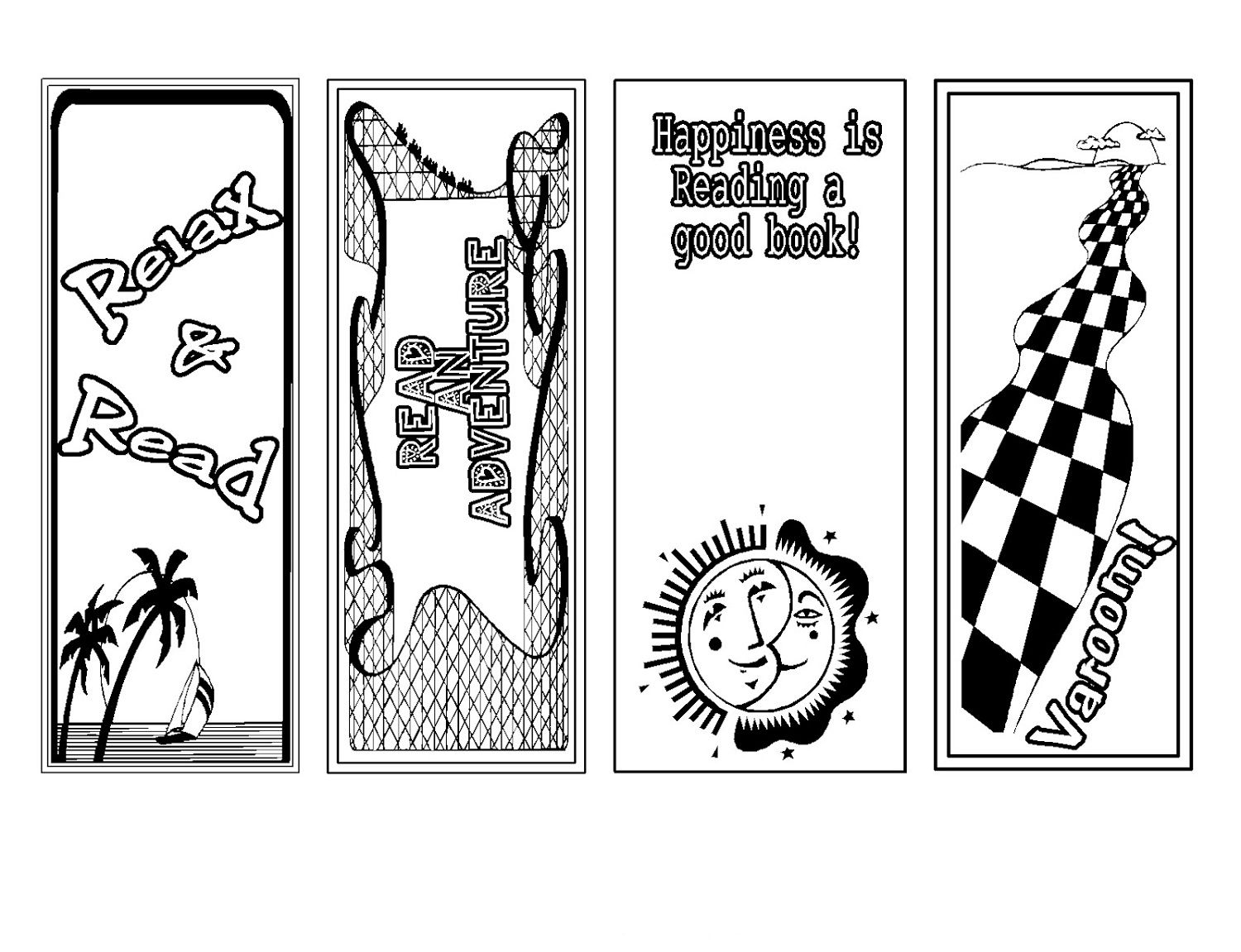 printable bookmarks for kid's cute bookmark | fancy stuff