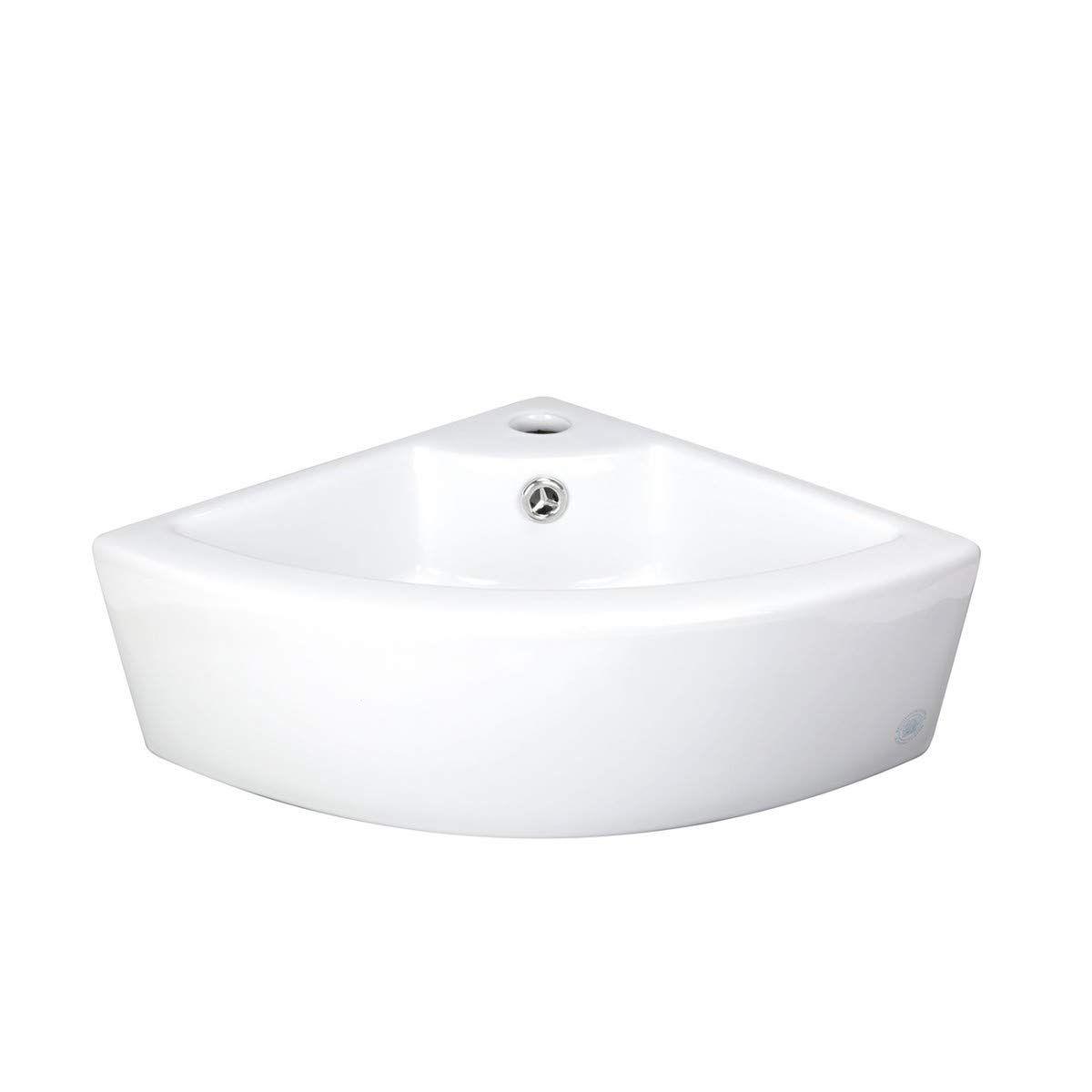 Renovator S Supply Small Corner Vessel Bathroom Sink Above Counter