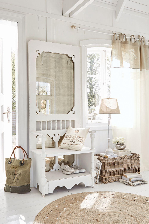 Hochwertige Garderobe Fur Landhaus Flur Und Eingangsbereich