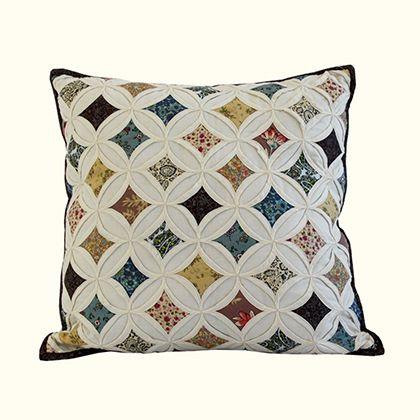 Sun Burst Decorative Pillow - Square   Nostalgia Home Fashions, Inc