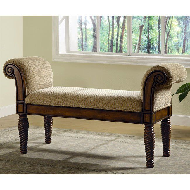That Stately Upholstered Bench Will Make A Statement In Your Entryway Hallway Bedroom Or Living Room A Beautiful Upholstered Bench Furniture Bench Furniture