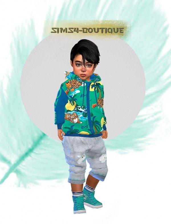 8290fb72a Sims4-boutique: Designer Set for Toddler Boys • Sims 4 Downloads ...