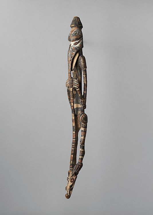Figure.  Date:     late 19th–early 20th century. Geography:     Papua New Guinea, Lower Sepik River. Culture:     Kopar or Angoram people.
