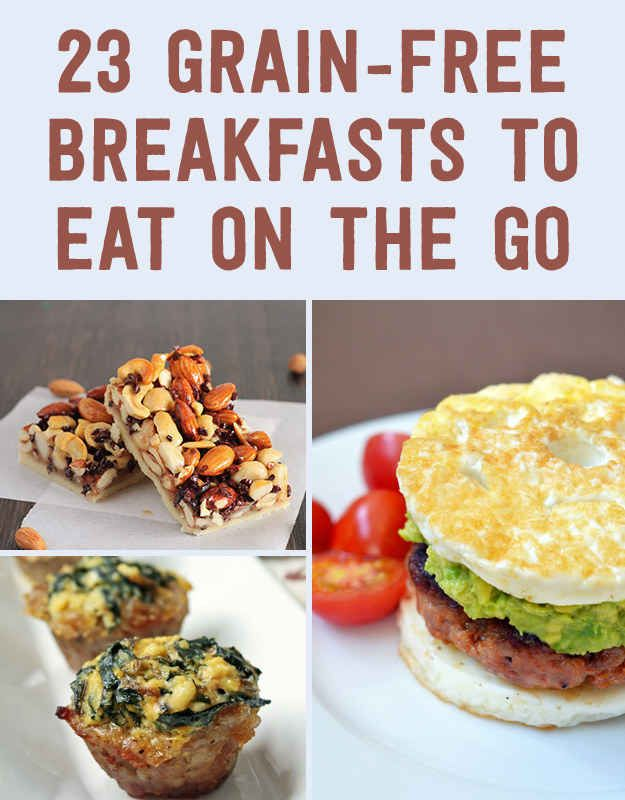 23 grain free breakfasts to eat on the go desayuno for Desayunos sin cocinar