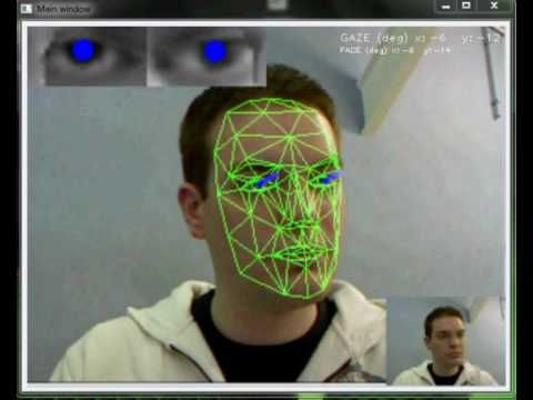 eye gaze direction indicator v0 2 cca blob tracking opencv waa